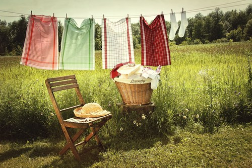 Intuition and the Washing Line!